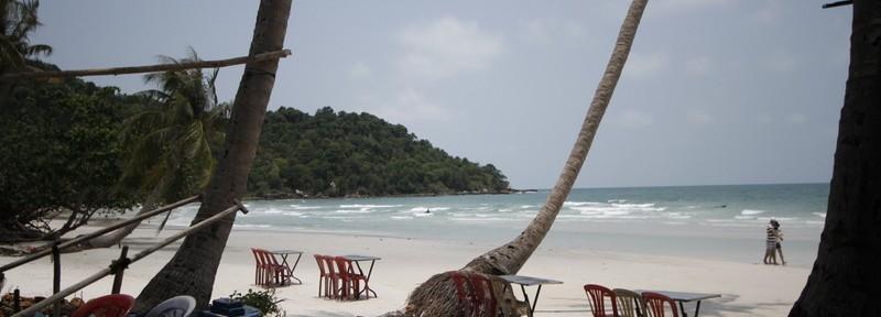 富国岛上白沙滩 Bai Sao