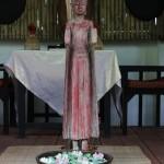 餐厅的佛像